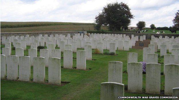 Bouzincourt Communal Cemetery Extension