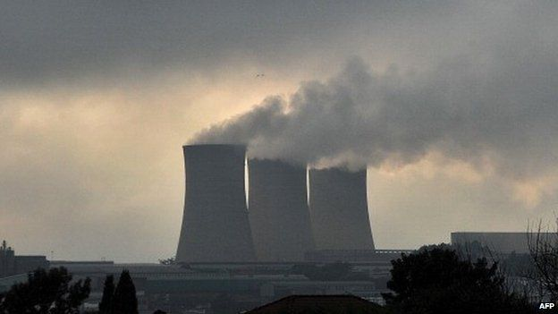 A power station in South Africa