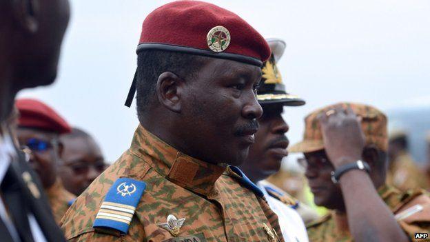 Interim leader Lt Col Isaac Zida. Photo: 5 November 2014