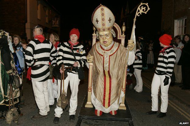 Effigy of the Pope