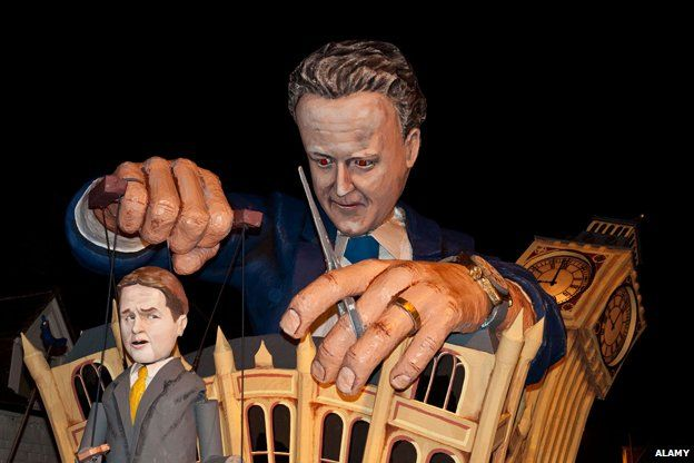 Cameron and Clegg 2010