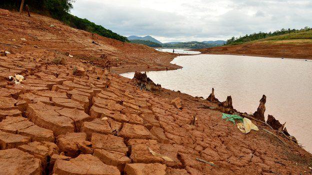 Mud in reservoir