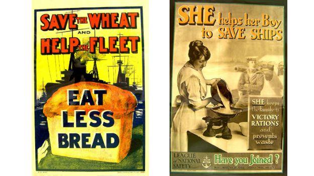 World War One posters reveal St. Helens war messages - BBC News