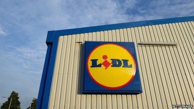 A Lidl store
