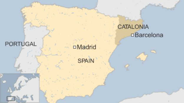 Catalonia Vote 80 Back Independence Officials Bbc News