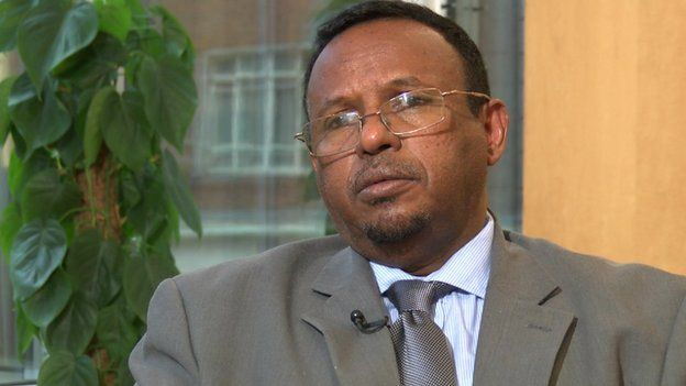 Abdulkadir Abiikar Hussein, the director of oil and gas exploration at the Ministry of Petroleum and Mineral Resources