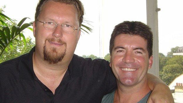 Eliot Kennedy and Simon Cowell