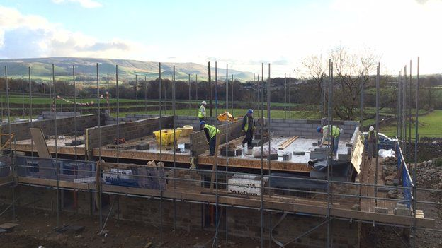 Construction of affordable housing in the Yorkshire Dales