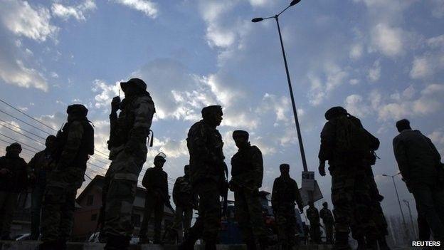 Kashmir soldiers