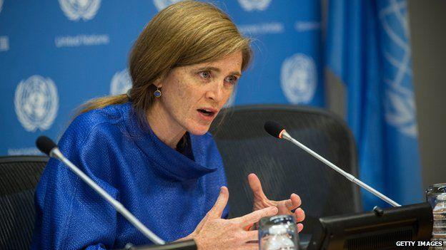 United States Ambassador to the United Nations Samantha Power