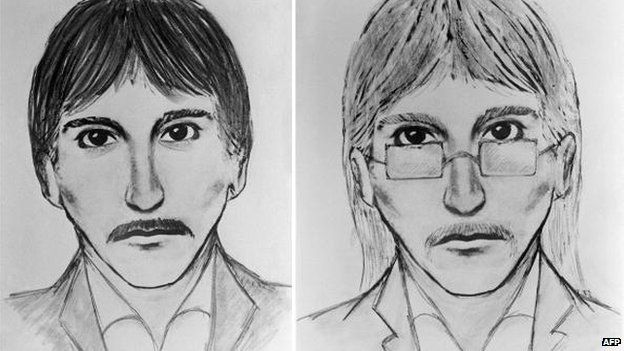 An artist's impression of a suspect in the 1980 synagogue bombing released by French police