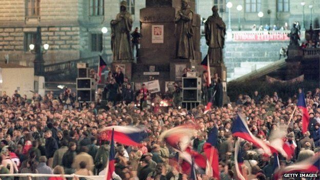 Image result for revolution in czechoslovakia