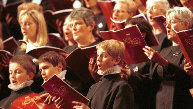 Songs of Praise choir