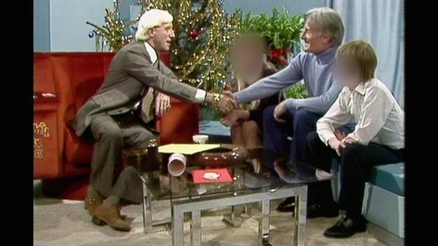 Keith Harding meets Jimmy Savile on Jim'll Fix It