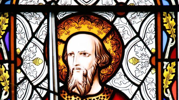St Paul: Charlecote church, Warwickshire
