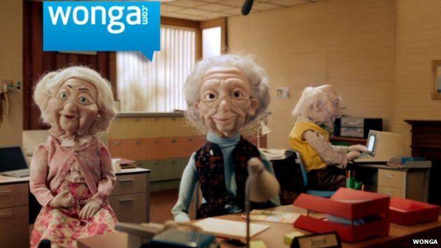 Wonga UK advert