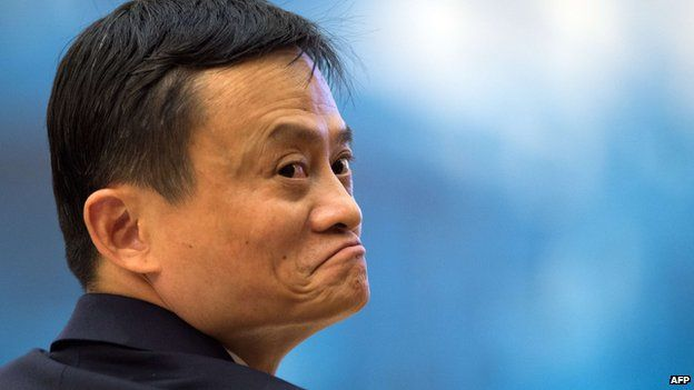 Alibaba founder Jack Ma gestures at the opening ceremony of the World Internet Conference in Wuzhen on 19 November, 2014