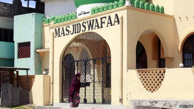 Swafaa mosque in Mombasa