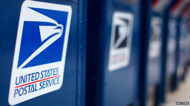 US Postal Service post boxes