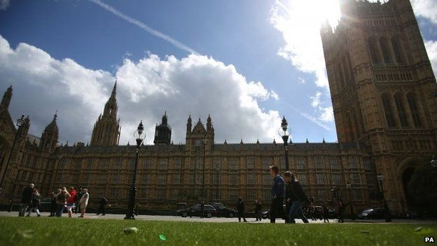 Palace of Westminster buildings