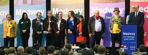 Rochester and Strood candidates