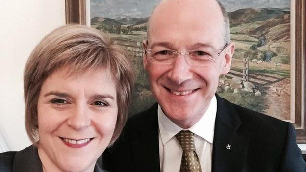 Nicola Sturgeon has announced that John Swinney will be deputy first minister