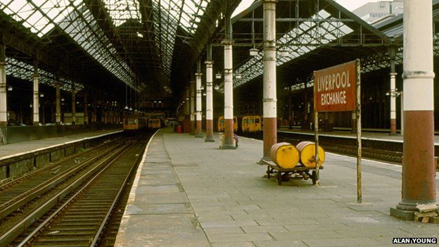 Liverpool Exchange in 1973