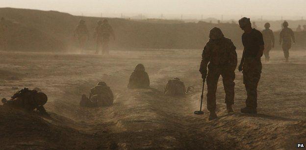 Afghanistan's battlefield slang - BBC News