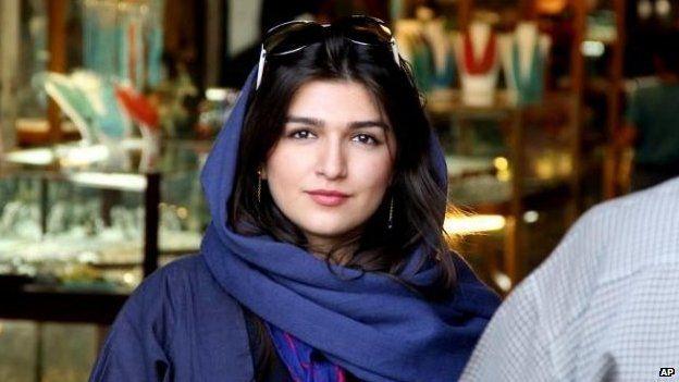 File photo: Ghoncheh Ghavami in Isfahan, Iran, 2011