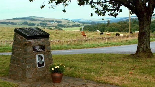 There is a memorial to Jane Haining in the village of Dunscore
