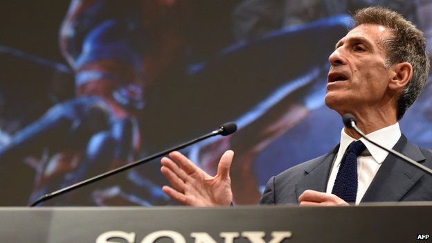 Sony Pictures Entertainment chairman and CEO Michael Lynton