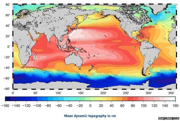 Dynamic topography