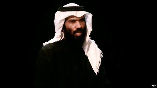 Screengrab of video purportedly showing Saudi diplomat Abdullah al-Khalidi, who is being held by al-Qaeda in the Arabian Peninsula in Yemen (15 April 2013)