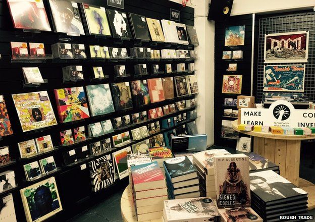 Rough Trade shop in Nottingham