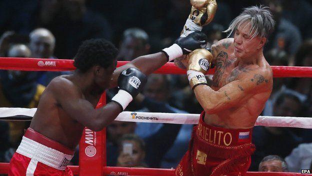 Mickey rourke boxing film