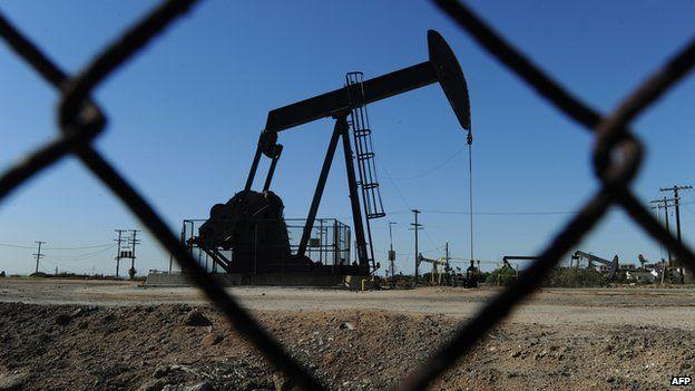 Oil pump in Los Angeles