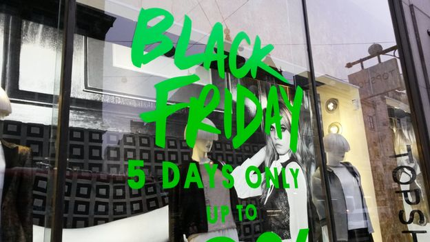 Top Shop Black Friday promotion