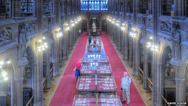 John Rylands Library exhibits