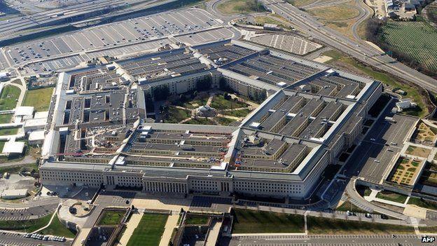 The Pentagon in Arlington, Virginia, seen on 26 December 2011