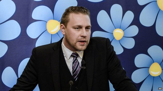 Sweden Democrats spokesman Mattias Karlsson (2 Dec)
