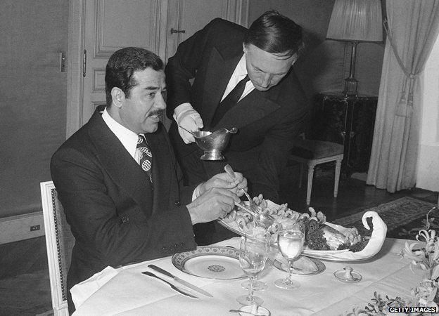 Saddam Hussein 1975