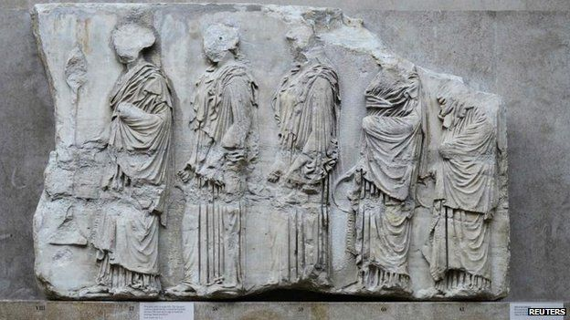 How did the Elgin Marbles get here? - BBC News