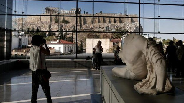 how did the elgin marbles get here bbc news