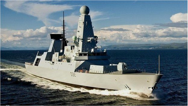 Type 45 destroyer, HMS Daring