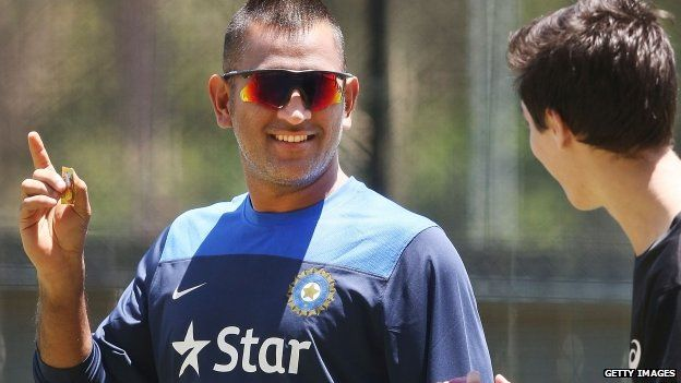 Papers are doubtful over captain MS Dhoni's fitness for the first Test