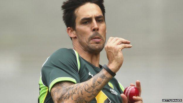 Mitchell Johnson is Australia's strike bowler