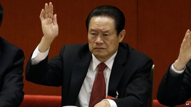 Ex-security chief Zhou Yongkang has been expelled from the Communist Party