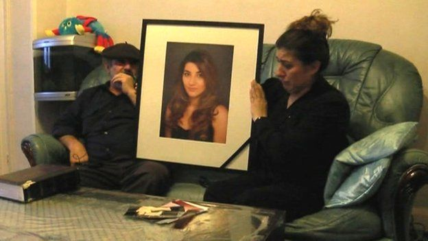 Jane Khalaf's parents