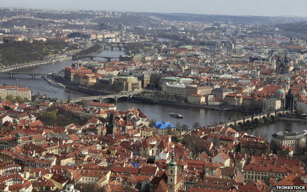 The River Vltava in Prague