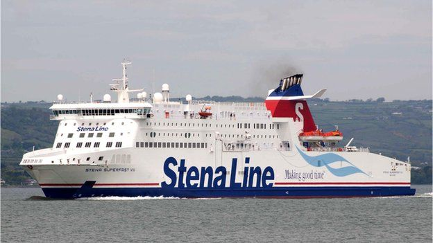 Y Stena Superfast VIII.